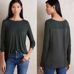 ANTHROPOLOGIE top by bordeaux